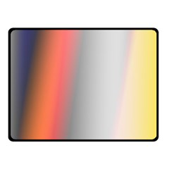 Digitally Created Abstract Colour Blur Background Fleece Blanket (Small)