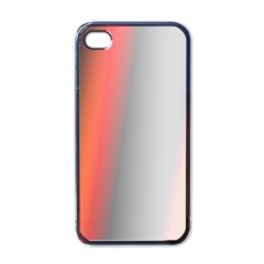 Digitally Created Abstract Colour Blur Background Apple iPhone 4 Case (Black)