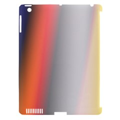 Digitally Created Abstract Colour Blur Background Apple Ipad 3/4 Hardshell Case (compatible With Smart Cover)