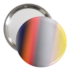 Digitally Created Abstract Colour Blur Background 3  Handbag Mirrors