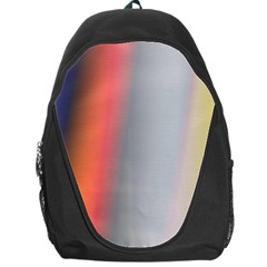 Digitally Created Abstract Colour Blur Background Backpack Bag
