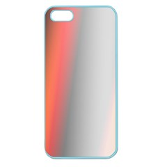 Digitally Created Abstract Colour Blur Background Apple Seamless iPhone 5 Case (Color)