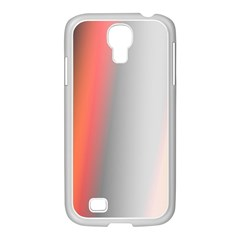 Digitally Created Abstract Colour Blur Background Samsung GALAXY S4 I9500/ I9505 Case (White)