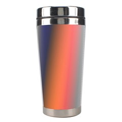 Digitally Created Abstract Colour Blur Background Stainless Steel Travel Tumblers