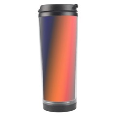 Digitally Created Abstract Colour Blur Background Travel Tumbler