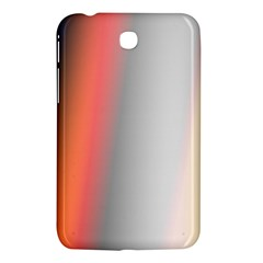 Digitally Created Abstract Colour Blur Background Samsung Galaxy Tab 3 (7 ) P3200 Hardshell Case