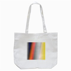 Digitally Created Abstract Colour Blur Background Tote Bag (white)