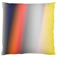 Digitally Created Abstract Colour Blur Background Standard Flano Cushion Case (Two Sides)