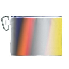 Digitally Created Abstract Colour Blur Background Canvas Cosmetic Bag (XL)