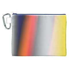 Digitally Created Abstract Colour Blur Background Canvas Cosmetic Bag (xxl)