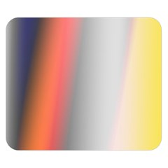Digitally Created Abstract Colour Blur Background Double Sided Flano Blanket (small)
