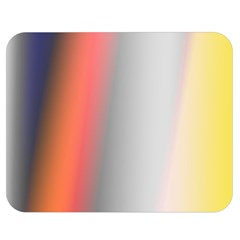 Digitally Created Abstract Colour Blur Background Double Sided Flano Blanket (medium)