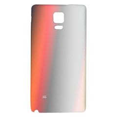 Digitally Created Abstract Colour Blur Background Galaxy Note 4 Back Case