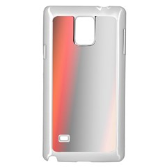 Digitally Created Abstract Colour Blur Background Samsung Galaxy Note 4 Case (White)