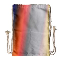 Digitally Created Abstract Colour Blur Background Drawstring Bag (Large)