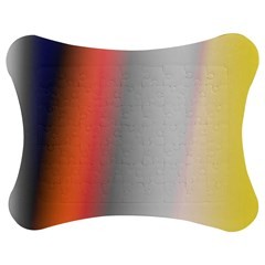 Digitally Created Abstract Colour Blur Background Jigsaw Puzzle Photo Stand (Bow)
