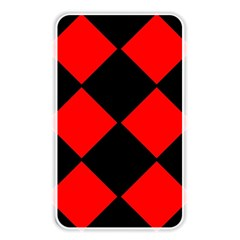 Red Black square Pattern Memory Card Reader