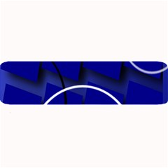 Blue Abstract Pattern Rings Abstract Large Bar Mats