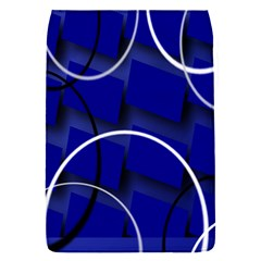 Blue Abstract Pattern Rings Abstract Flap Covers (s)