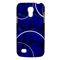 Blue Abstract Pattern Rings Abstract Galaxy S4 Mini