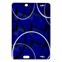 Blue Abstract Pattern Rings Abstract Amazon Kindle Fire Hd (2013) Hardshell Case