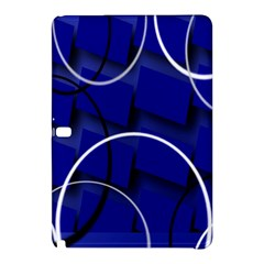 Blue Abstract Pattern Rings Abstract Samsung Galaxy Tab Pro 12 2 Hardshell Case