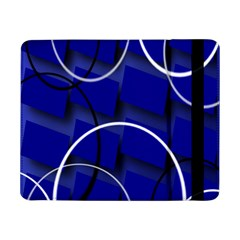 Blue Abstract Pattern Rings Abstract Samsung Galaxy Tab Pro 8 4  Flip Case
