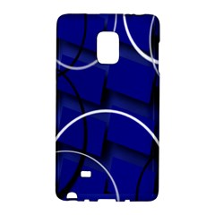 Blue Abstract Pattern Rings Abstract Galaxy Note Edge