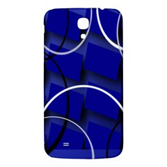 Blue Abstract Pattern Rings Abstract Samsung Galaxy Mega I9200 Hardshell Back Case