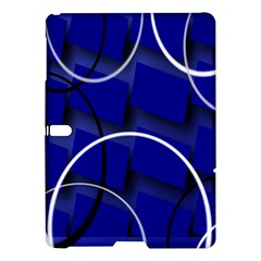 Blue Abstract Pattern Rings Abstract Samsung Galaxy Tab S (10 5 ) Hardshell Case