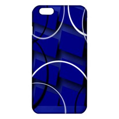 Blue Abstract Pattern Rings Abstract Iphone 6 Plus/6s Plus Tpu Case