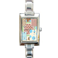 Part Background Image Rectangle Italian Charm Watch