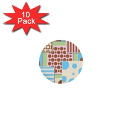 Part Background Image 1  Mini Buttons (10 pack)