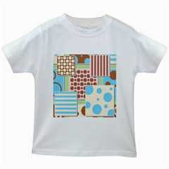 Part Background Image Kids White T Shirts
