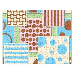 Part Background Image Rectangular Jigsaw Puzzl