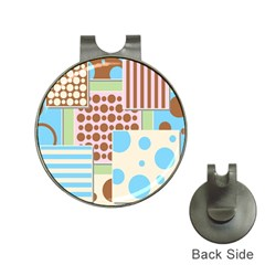 Part Background Image Hat Clips With Golf Markers