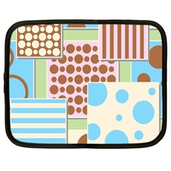 Part Background Image Netbook Case (Large)