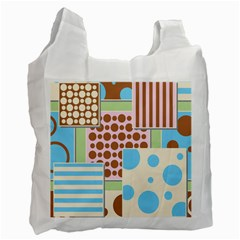 Part Background Image Recycle Bag (two Side)