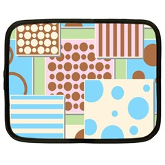 Part Background Image Netbook Case (XL)