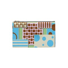 Part Background Image Cosmetic Bag (small)