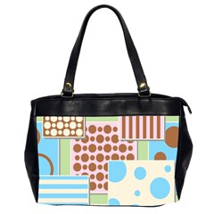 Part Background Image Office Handbags (2 Sides)