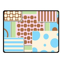 Part Background Image Fleece Blanket (small)