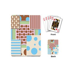 Part Background Image Playing Cards (mini)