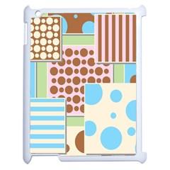 Part Background Image Apple iPad 2 Case (White)