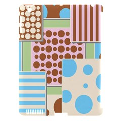 Part Background Image Apple iPad 3/4 Hardshell Case (Compatible with Smart Cover)