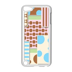 Part Background Image Apple Ipod Touch 5 Case (white)