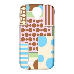 Part Background Image Samsung Galaxy S4 Classic Hardshell Case (pc+silicone)