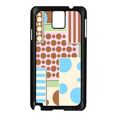 Part Background Image Samsung Galaxy Note 3 N9005 Case (black)