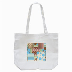 Part Background Image Tote Bag (white)