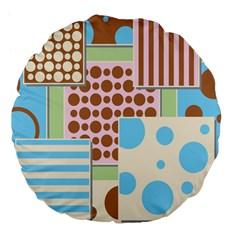 Part Background Image Large 18  Premium Flano Round Cushions